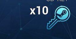 10x steam random key