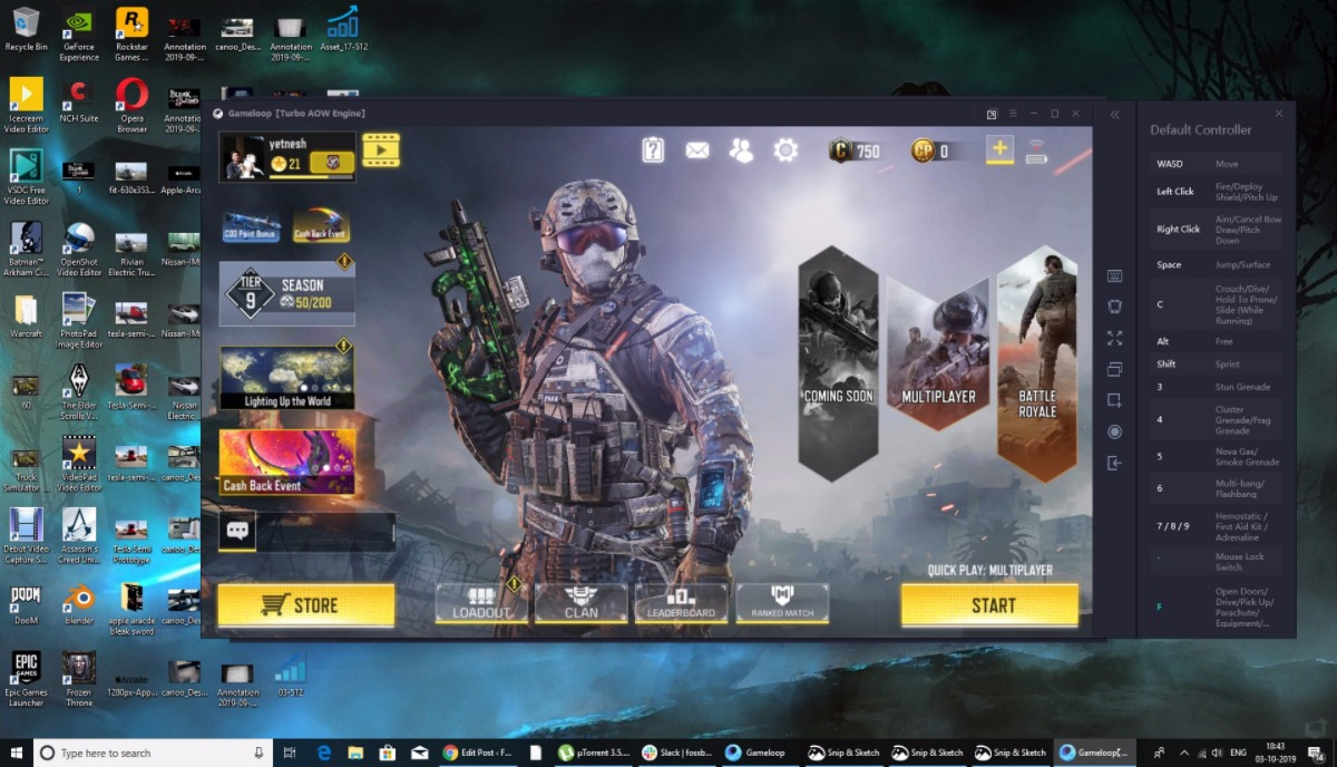 Call Of Duty: Mobile On PC